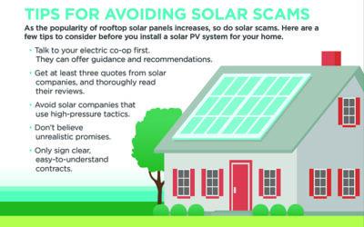 Avoid Solar Energy Scams