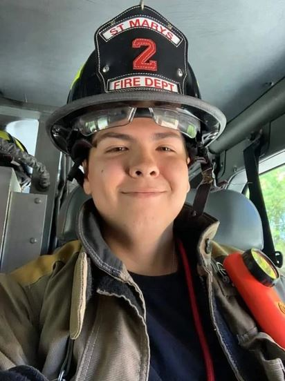 Firefighter Who Died During First Shift