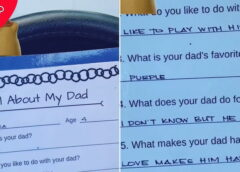 """Dad's """"Brutal"""" Description In Daughter's School Project Will Leave You In Stitches"""