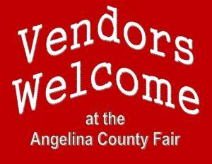 Vendor Welcome sign for website