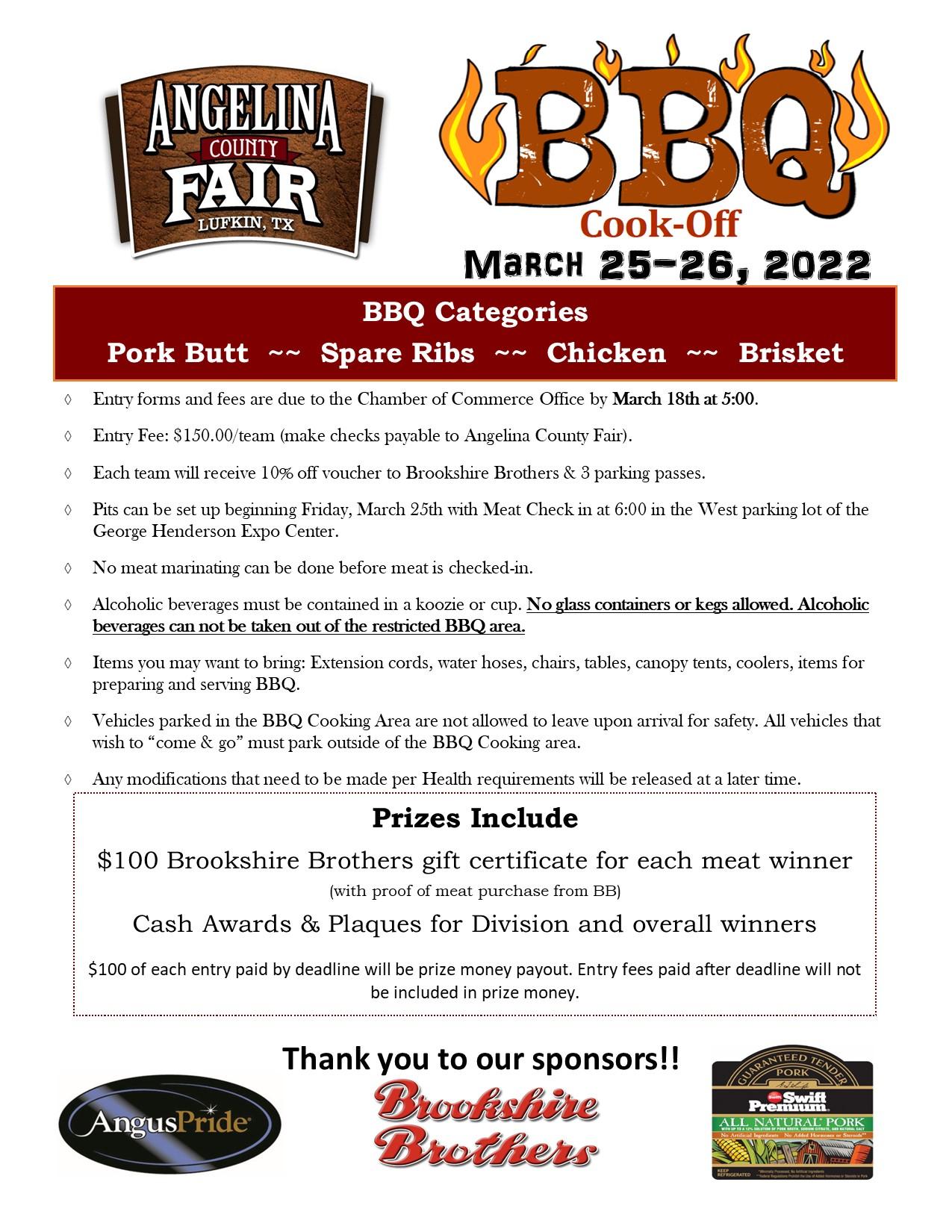 BBQ cookoff registration
