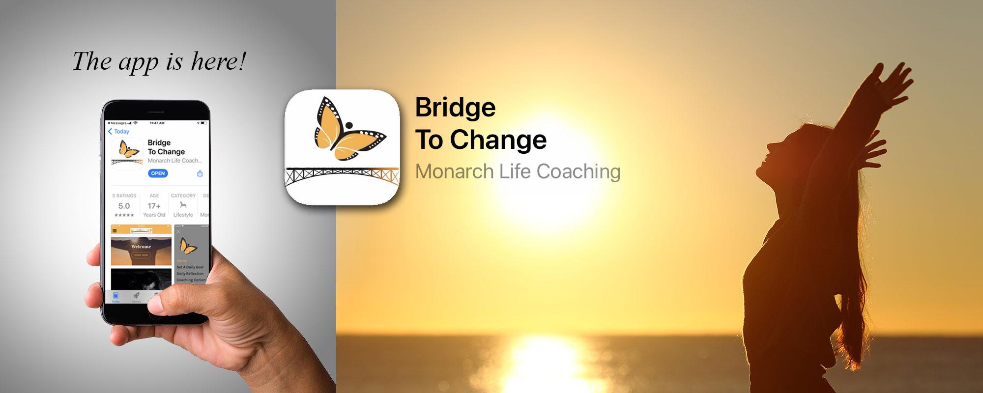 The Bridge to Change App Tom Marino Life Coach