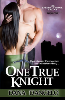 One True Knight by Dana D'Angelo - a medieval romance novel