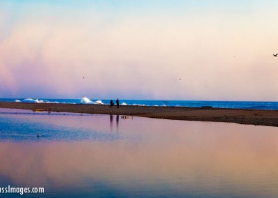 13Santa Clara river estuary east sunset