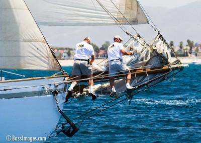 McNish sailboat race crewing