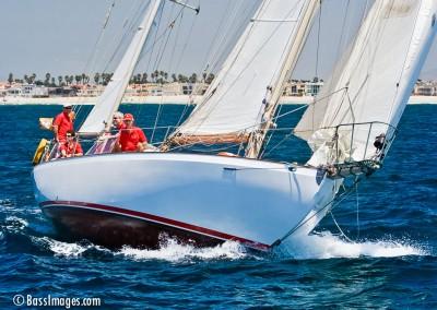 McNish sailboat racing 22