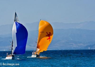 McNish sailboat racing 23