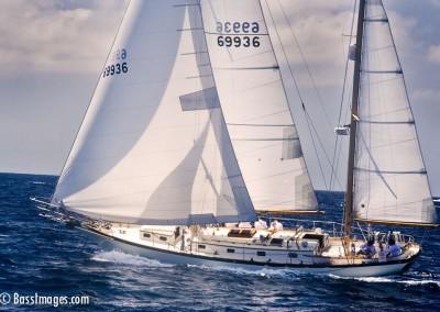McNish sailboat racing