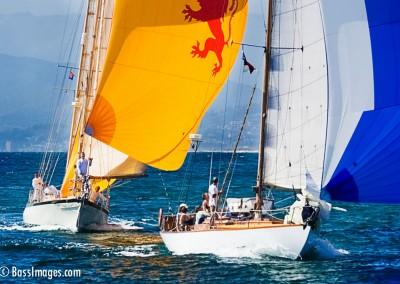 McNish sailboat racing finish
