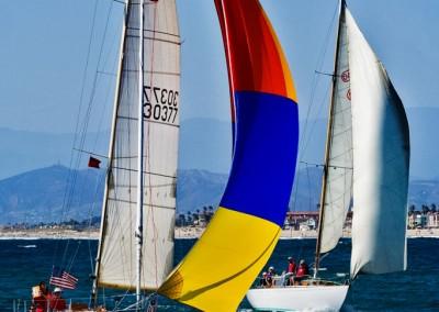 McNish sailboat racing finish line2