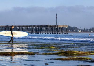 Surfer at Ventura Pier 12-11-2012_8610