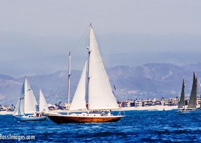 sailboats ventura mountains