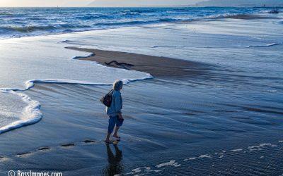 High tide at Ventura Lagoon