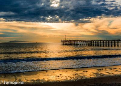 Ventura Pier eastside sunset-1