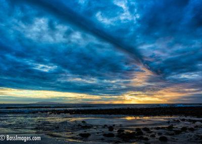 Sunset Ventura River mouth-2-2
