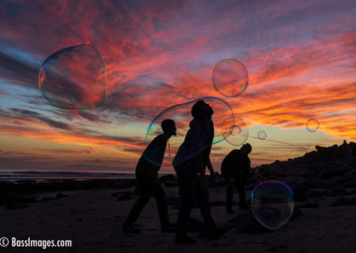 Bubbles at Sunset-3