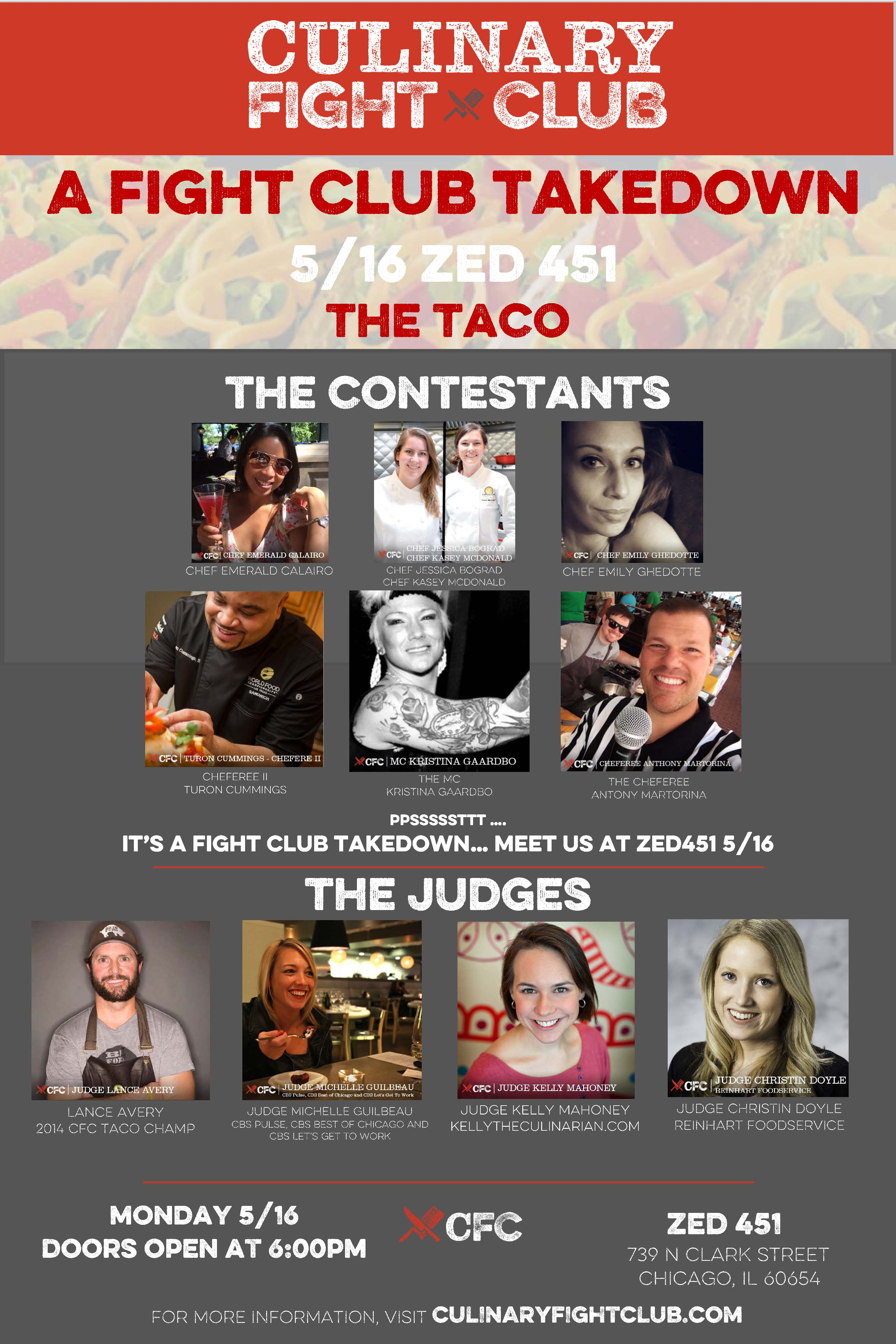 Culinary Fight Club Taco Challenge Chicago