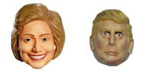 Presidential Debate Night Watch Party and Masked Face-Off Mock Debate