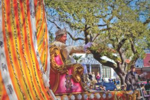 Rex, King of Carnival Issues Official 2017 Invitation to Mardi Gras in New Orleans
