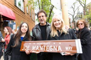 Joe Mantegna Way Dedication Celebrations Raise Over $20,000 For Local Charities