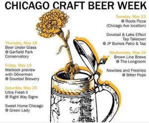 Dovetail Brewery Raises its Glass at Chicago Craft Beer Week for the First Time