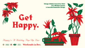 Happy's: A Holiday Pop-Up Bar in The Tank