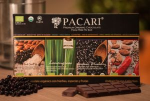 Pacari, Premium Organic Chocolate at the Winter Fancy Food Show with surprising flavors