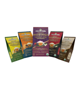 ORGANIC MORINGA SUPERFOOD TEA INF– USED WITH CAFFEINE PROVIDES NUTRITIOUS ALTERNATIVE TO COFFEE AND ENERGY DRINKS