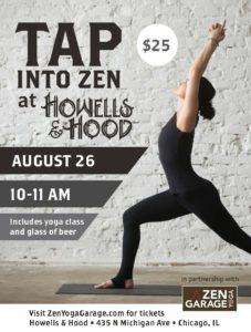 Tap into Zen at Howells & Hood