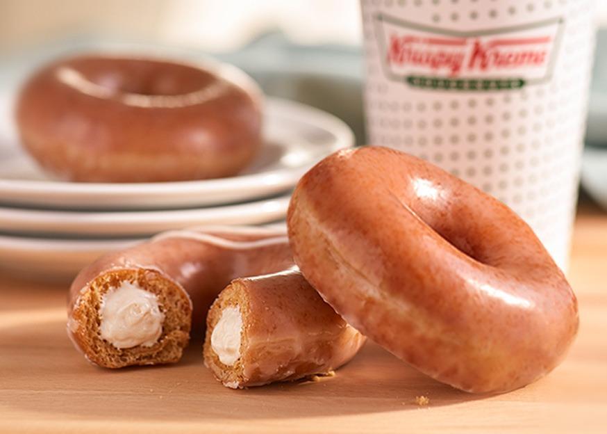Krispy Kreme Pumpkin Spice Doughnuts   Donuts
