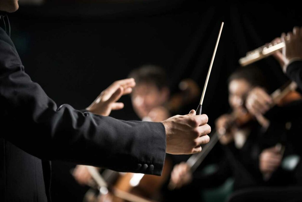 baton conducting