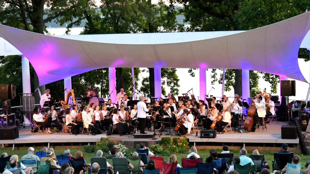 Orchestra LI at MP, credit Tab Hauser