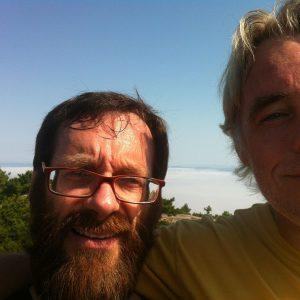 Abraham & friend - Bar Harbor, ME