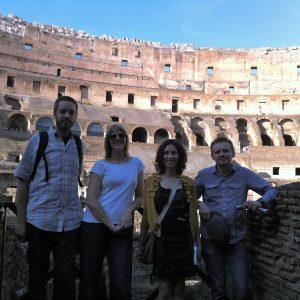 Camron, Clarissa, Margaret - Rome 2011