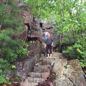 Oksana Polesskaya & Lauren Few - Acadia National Park