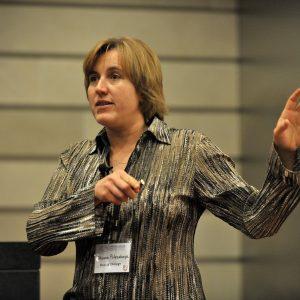 Oksana Polesskaya presenting at Brain Awareness Day 2015