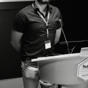 Alex Gileta speaking at the CTC Meeting 2017