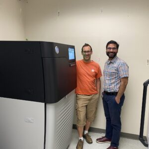New PacBio Machine with Abe and Milad, June 2021