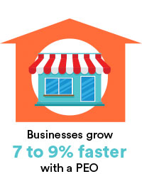 Business grow 7 to 9% faster with a PEO