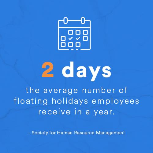 floating pto holidays
