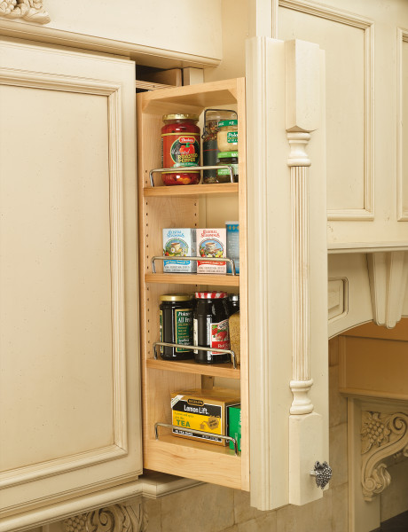 Pull-Out Between Cabinet Wall-Filler