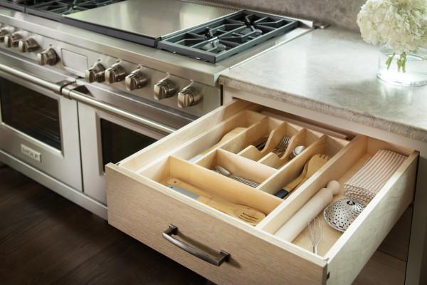 Wood Cutlery Tray Insert
