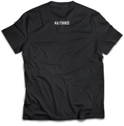 Power MockUp_Back T-shirt Mastuhree