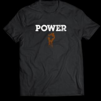 Power Black T-shirt Mastuhree