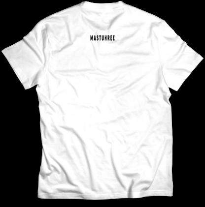 White Power MockUp_Back T-shirt Mastuhree
