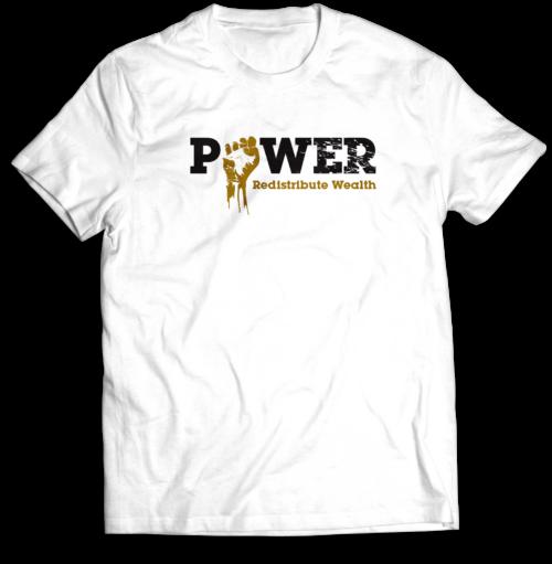 White Power MockUp_Front T-shirt Mastuhree
