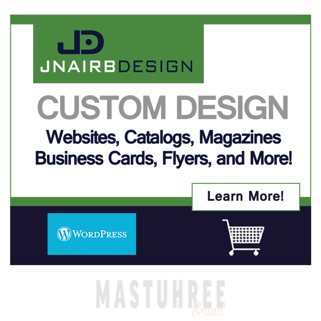 Jnairbdesign - Websites, Magazines, business cards and more!