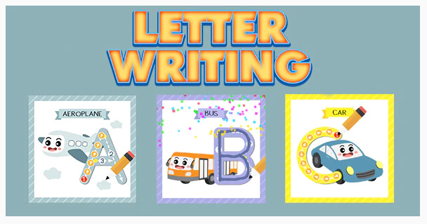 Letter Writing - Kids Education Game