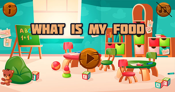 What Is My Food - Game for Kids - Educational Game