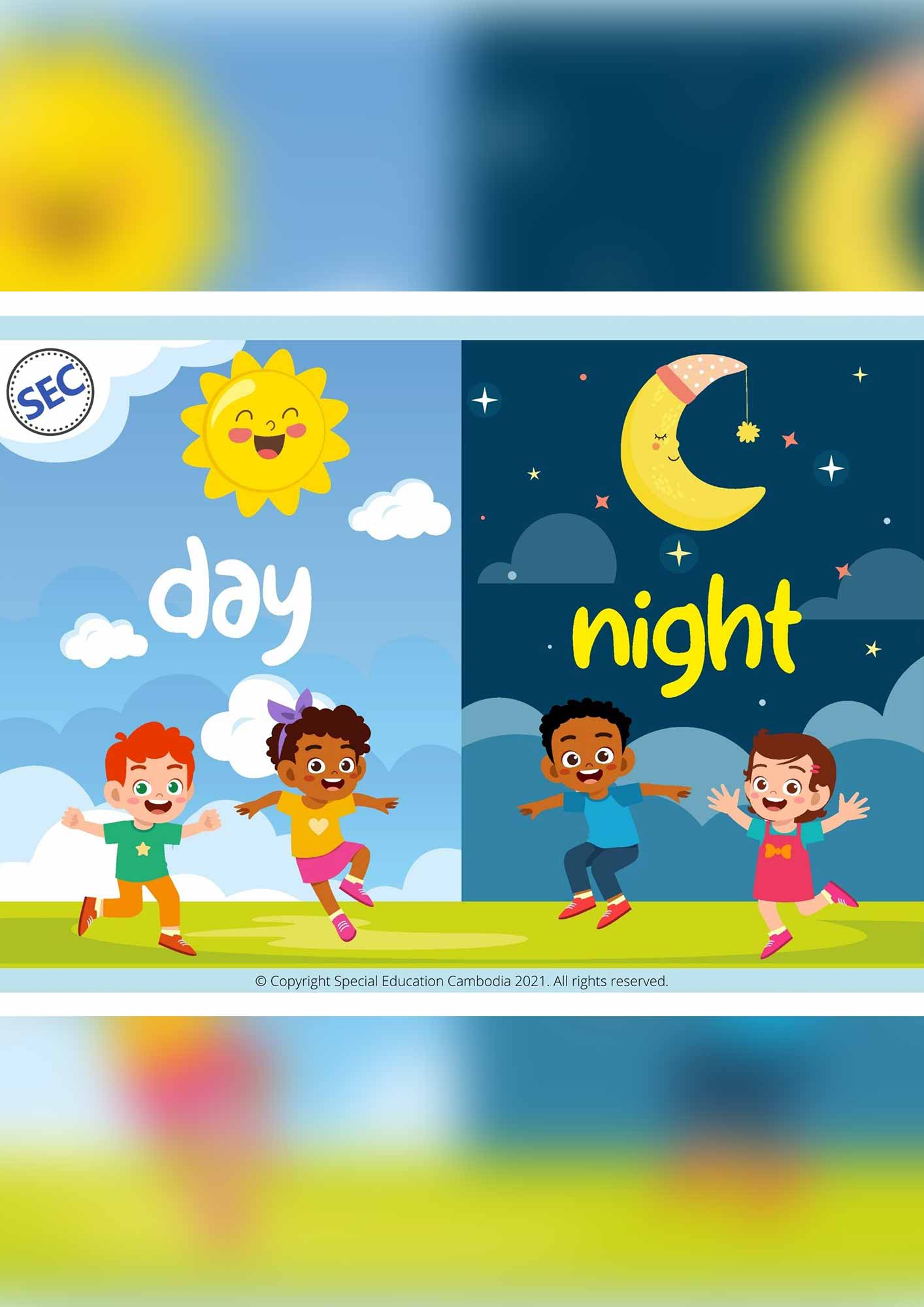 Day and Night Worksheets